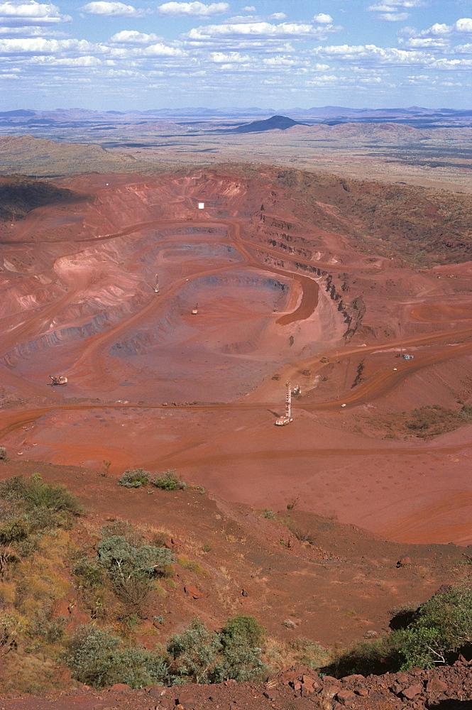 Tom Price Iron Ore Mines, Western Australia, Australia, Pacific - 399-4405