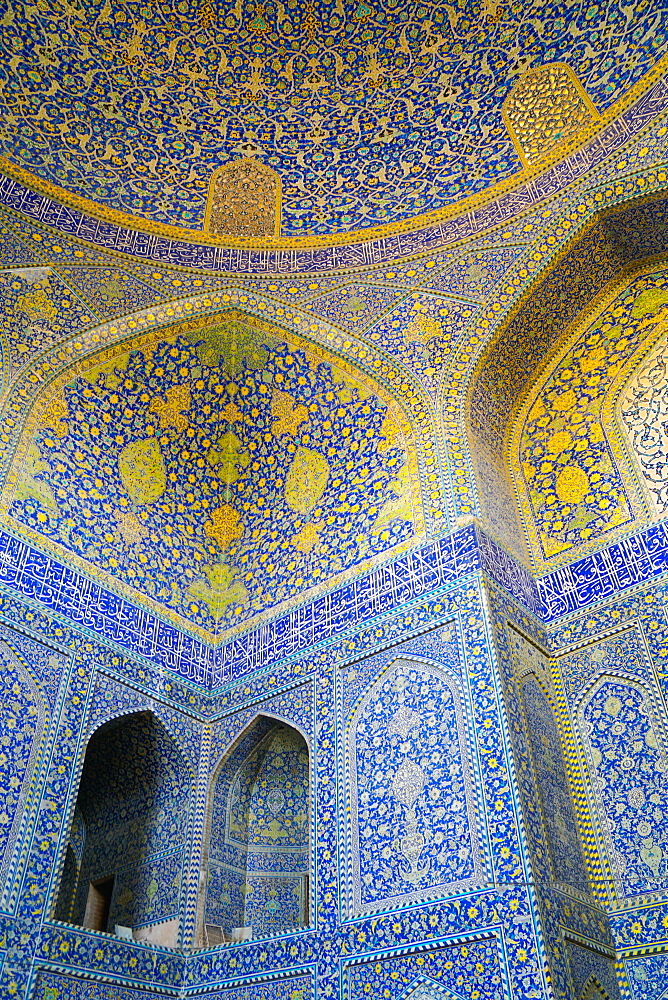 Main Sanctuary, Imam Mosque, Isfahan, Iran, Middle East