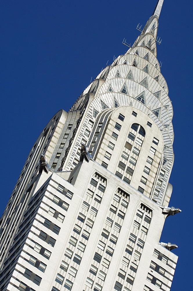 The Chrysler Building, 42nd Street, Manhattan, New York City, New York, United States of America, North America - 462-1743