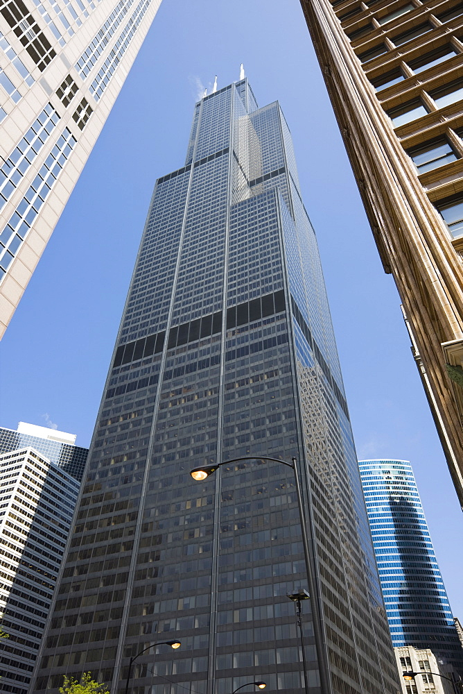 Sears Tower, Chicago, Illinois, United States of America, North America - 462-2267