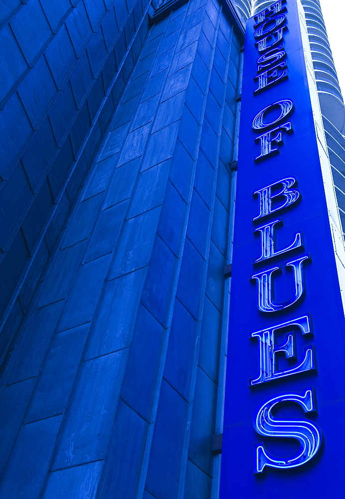 The House of Blues, live music venue, Marina City, Chicago, Illinois, United States of America, North America - 462-2284