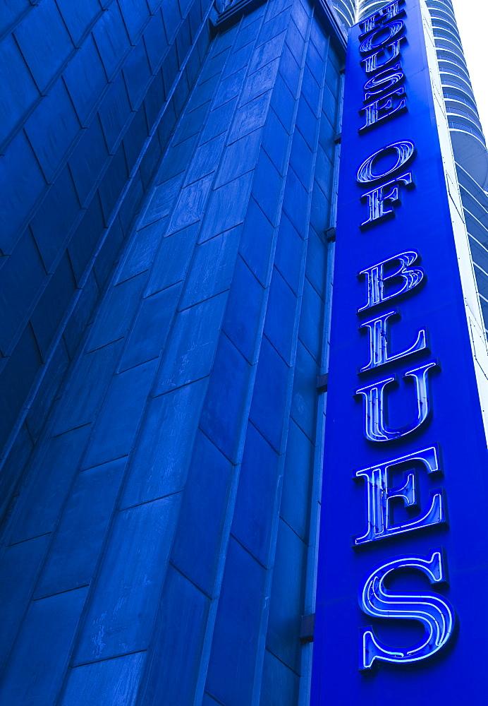 The House of Blues, live music venue, Marina City, Chicago, Illinois, United States of America, North America