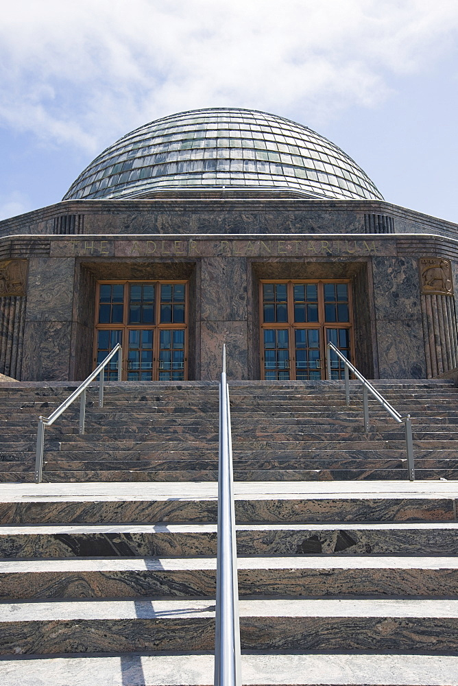 The Adler Planetarium, Chicago, Illinois, United States of America, North America - 462-2307