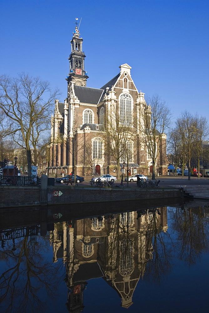 Westerkerk Church, built in 1631, Amsterdam, Netherlands, Europe