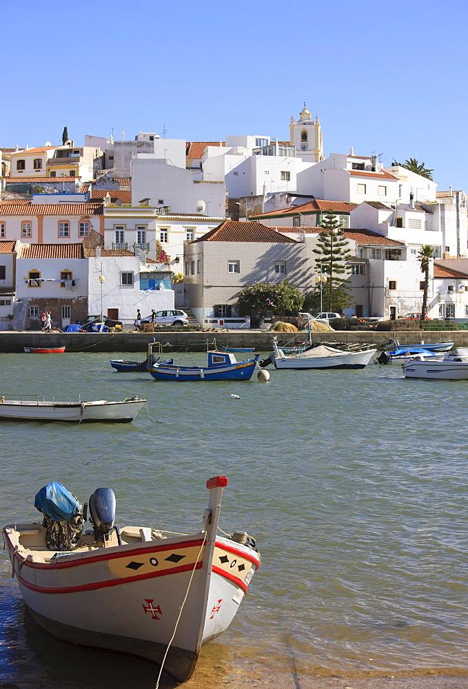 Ferragudo, Algarve, Portugal, Europe
