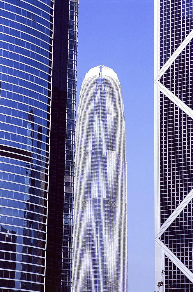 Two IFC Building in centre, Central, Hong Kong Island, Hong Kong, China, Asia