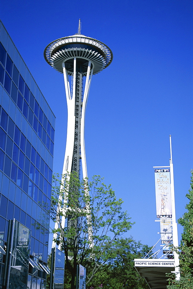 Space Needle, Seattle, Washington State, United States of America (U.S.A.), North America