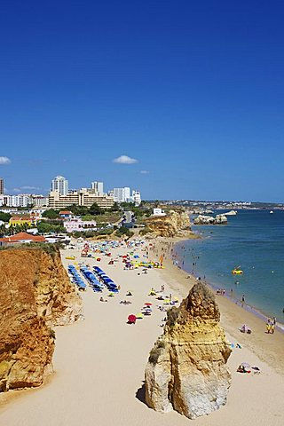 Praia do Vau, Portimao, Algarve, Portugal, Europe