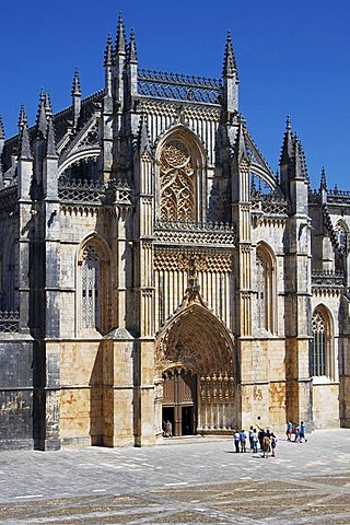 Santa Maria da Vitoria Monastery, UNESCO World Heritage Site, Batalha, Portugal, Europe