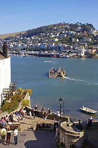 River Dart, Dartmouth, Devon, England, United Kingdom, Europe - 478-4808