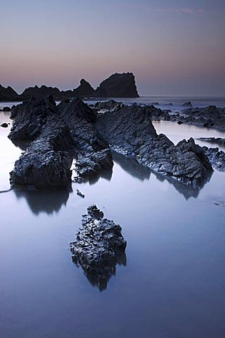 Hartland Quay, Woolacombe, Devon, England, United Kingdom, Europe