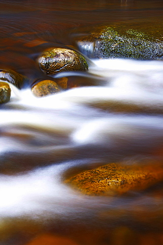 River Stones, Knaik Water, Perthshire, Scotland, United Kingdom, Europe - 478-4903