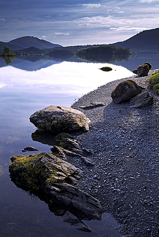 Derwent Water, Lake District National Park, Cumbria, England, United Kingdom, Europe - 478-4972