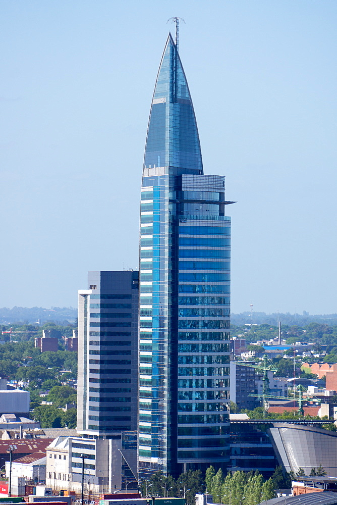 The Antel Building, Montevideo, Uruguay, South America