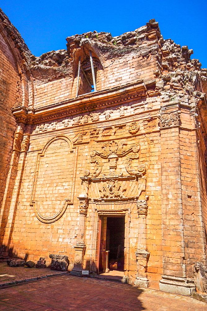 La Santisima Trinidad de Parana, Jesuit Mission of the Guarani Indians, UNESCO World Heritage Site, Paraguay, South America