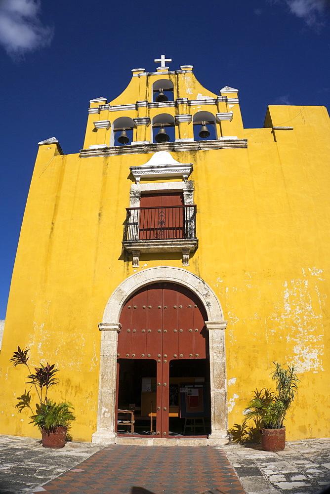 Templo del Dulce Nombre de Jesus, Campeche, UNESCO World Heritage Site, Yucatan, Mexico, North America