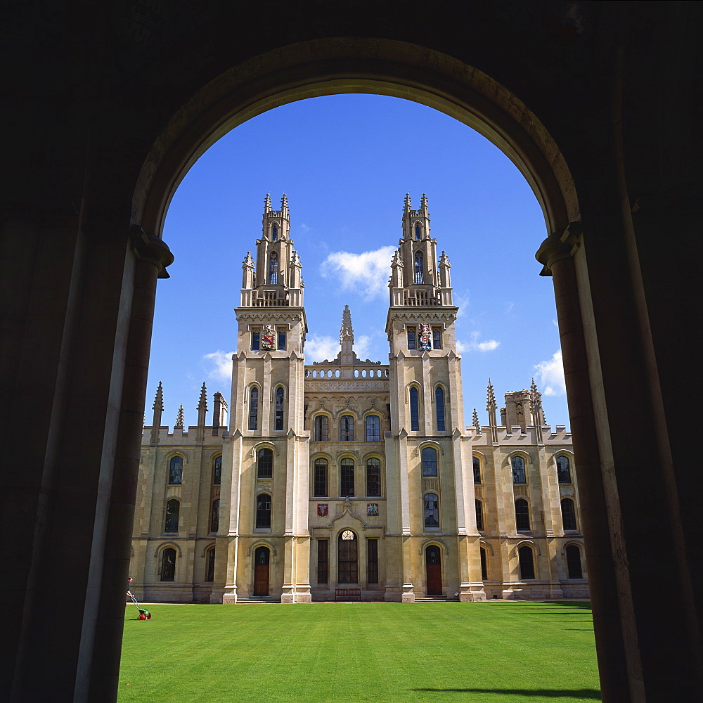 All Souls College, Oxford, Oxfordshire, England, United Kingdom, Europe - 485-3386