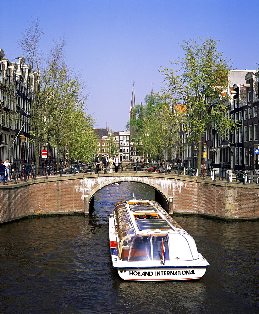 Keizers Gracht, Amsterdam, Holland, Europe