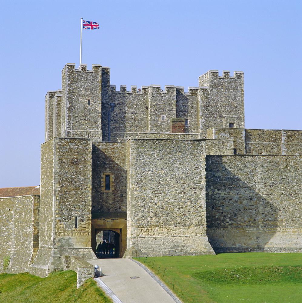 Dover Castle, Dover, Kent, England