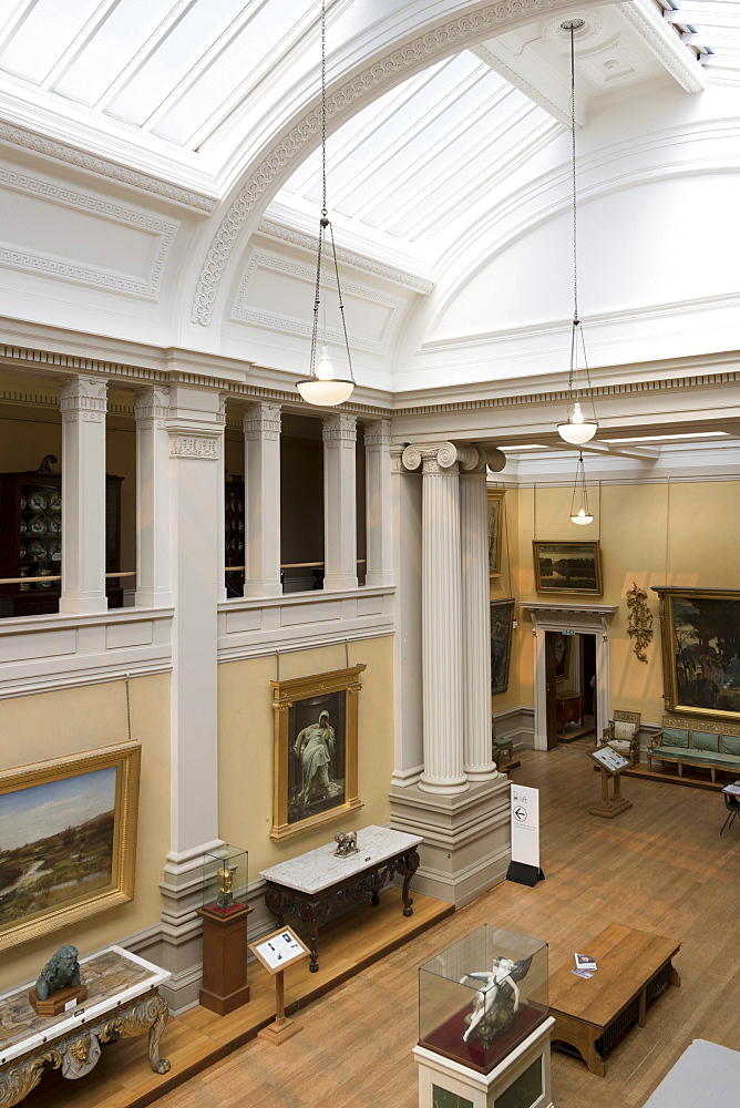 Lady Lever Art Gallery, Port Sunlight, Cheshire, England, United Kingdom, Europe - 489-1657