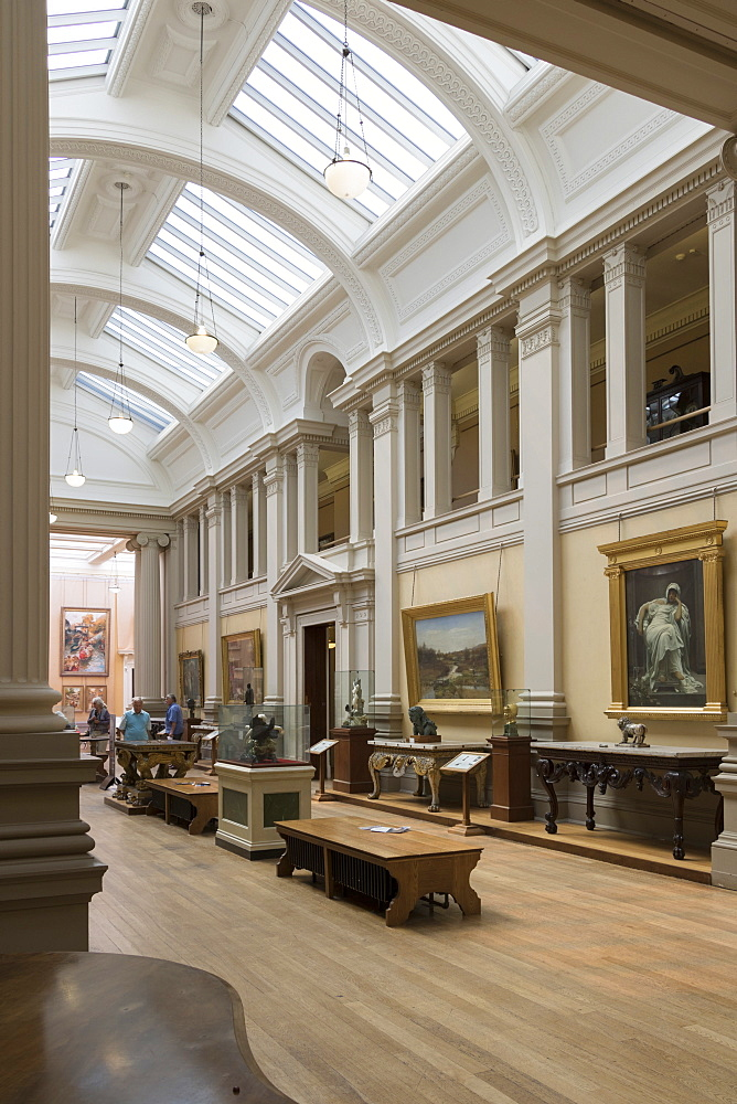 Lady Lever Art Gallery, Port Sunlight, Cheshire, England, United Kingdom, Europe - 489-1658
