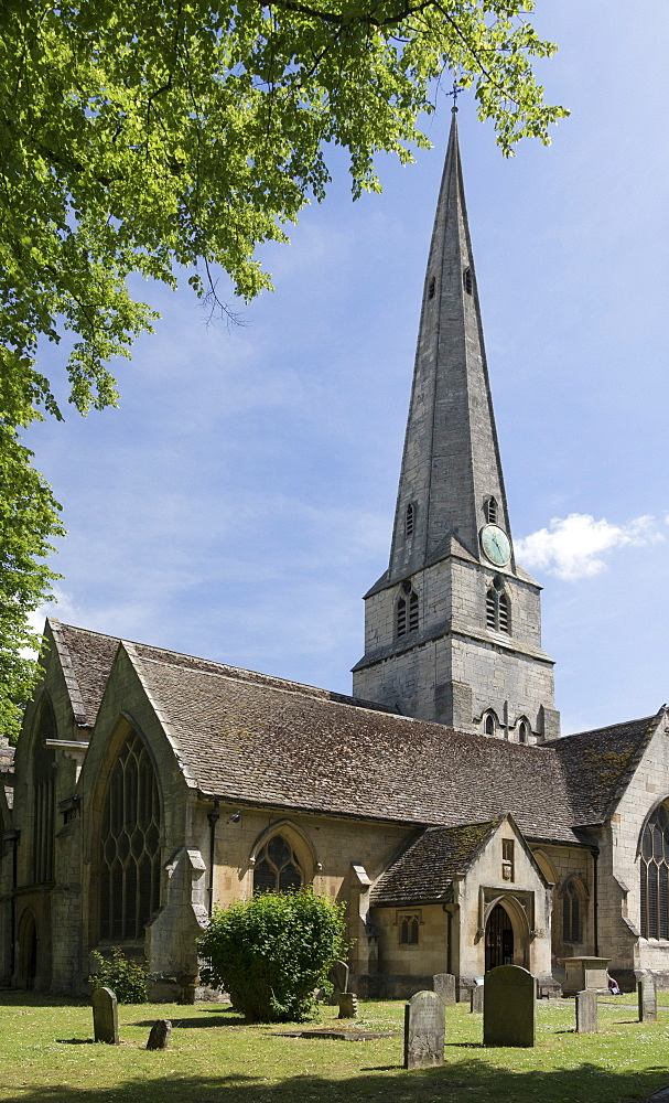 St. Mary's Church, Cheltenham, Gloucestershire, England, United Kingdom, Europe - 489-1680