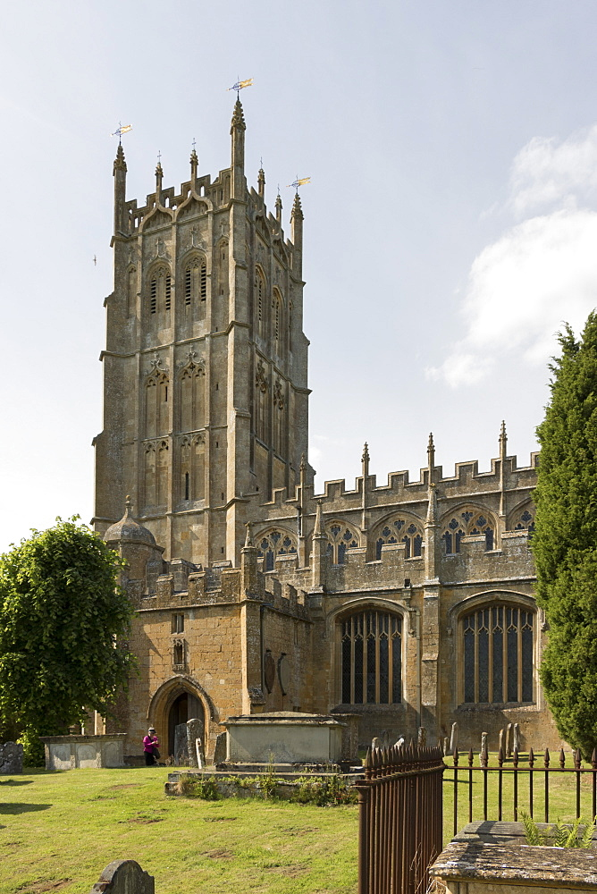 St. James Church, Chipping Campden, Gloucestershire, Cotswolds, England, United Kingdom, Europe - 489-1697