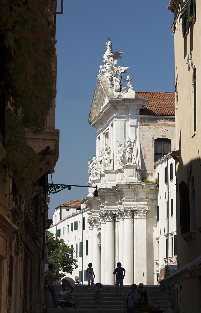 Chiesa di Santa Maria Assunta, Venice, UNESCO World Heritage Site, Veneto, Italy, Europe - 489-1710