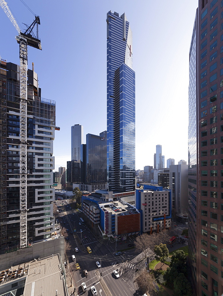 Eureka Tower (91 floors), Melbourne, Victoria, Australia, Pacific - 489-1738