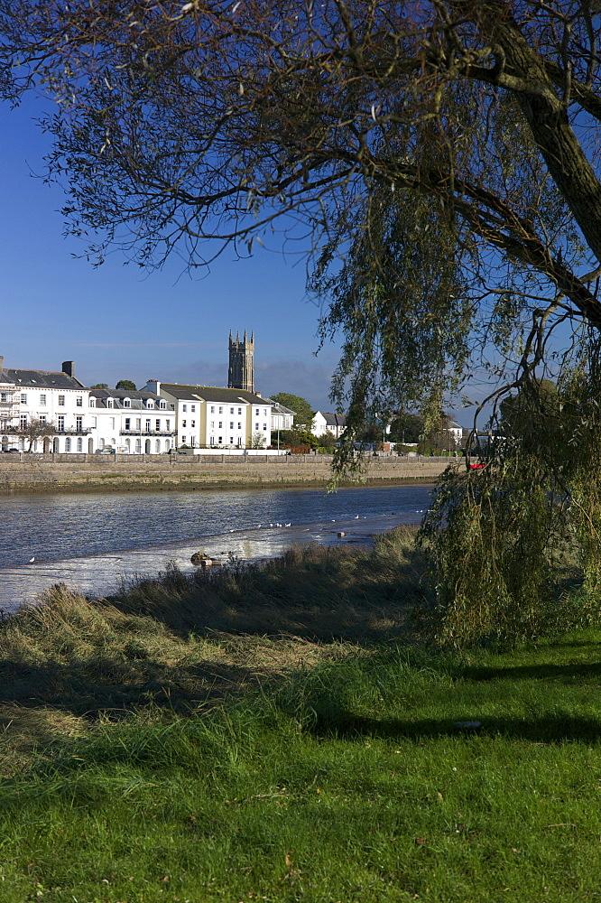 River Taw, Barnstaple, North Devon, England, United Kingdom, Europe - 492-3518