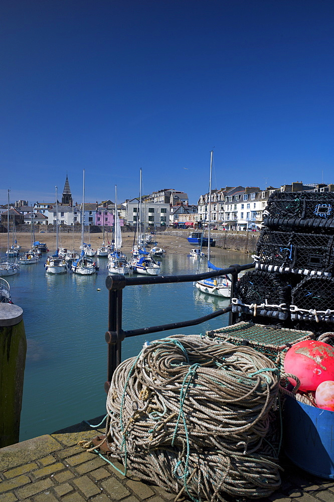 The Harbour, Ilfracombe, Devon, England, United Kingdom, Europe - 492-3528