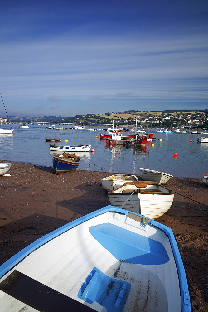The harbour, Teignmouth, Devon, England, United Kingdom, Europe - 492-3534