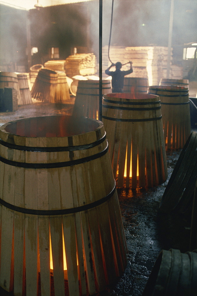 Barrels for sherry, Jerez, Andalucia, Spain, Europe - 508-27174