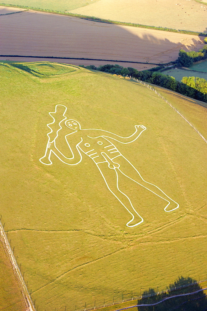 Cerne Abbas Giant, Dorset, England, UK *** Local Caption ***