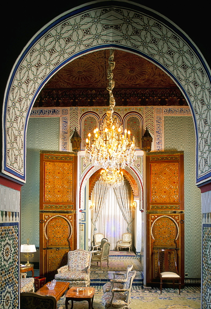 Palais Jamai Hotel, Fez (Fes), Morocco, North Africa, Africa