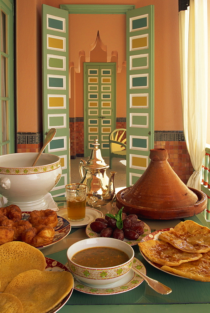 Food, La Mamounia Hotel, Marrakesh, Morocco, North Africa, Africa