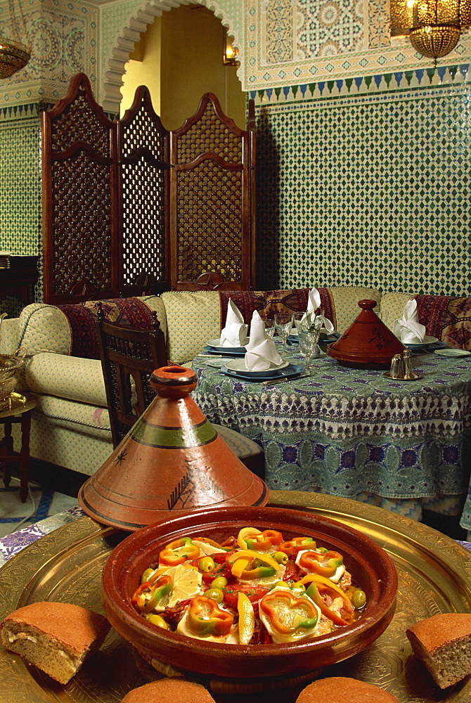 Royal Mansour Hotel, Casablanca, Morocco, North Africa, Africa