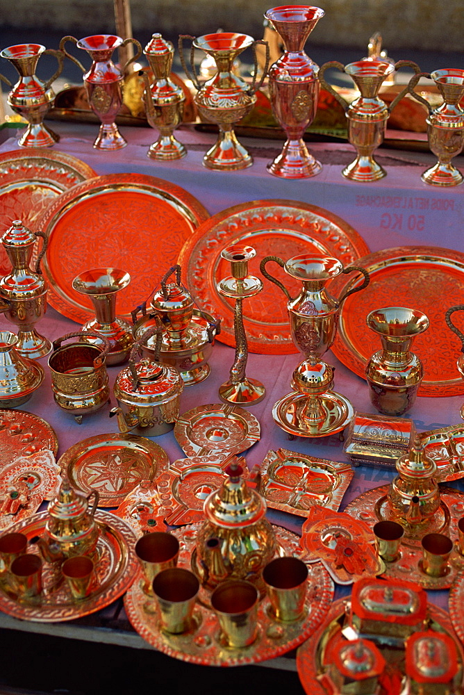 The souk in the Medina, Casablanca, Morocco, North Africa, Africa - 508-46756