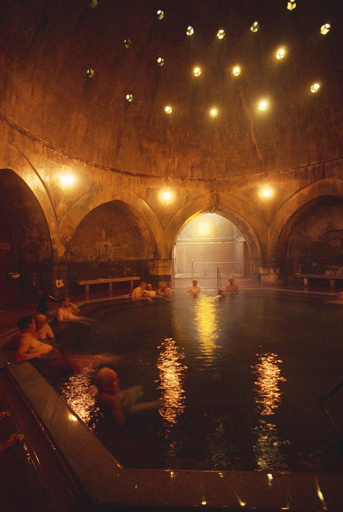 Kivaly Baths, Budapest, Hungary, Europe - 508-7625