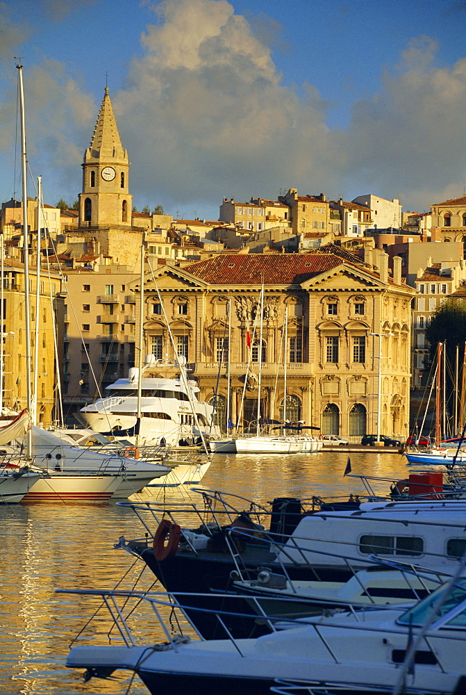 Vieux Port, Marseille, Bouche du Rhone, Provence, France, Europe