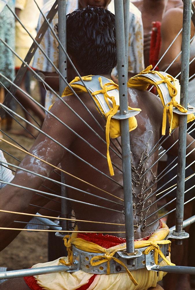 Hindu ceremony of Thaipusam, Kuala Lumpur, Malaysia, Southeast Asia, Asia - 54-1163
