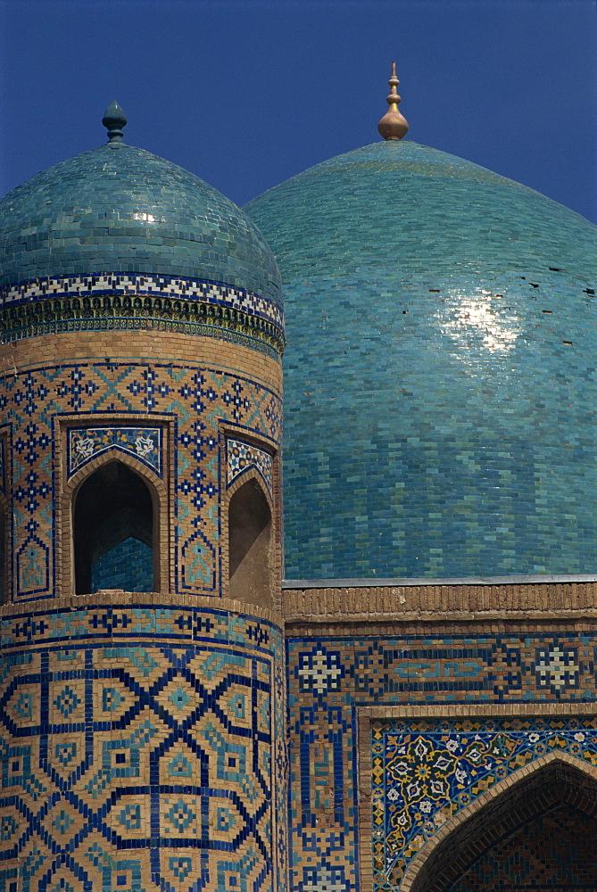 Tilla-Kari Medressa, Samarkand, Uzbekistan, Central Asia, Asia