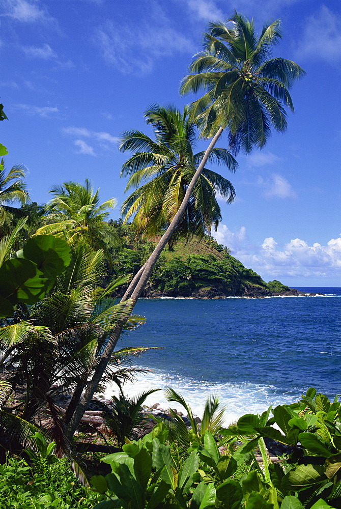 North east coastline, St. Vincent, Windward Islands, West Indies, Caribbean, Central America