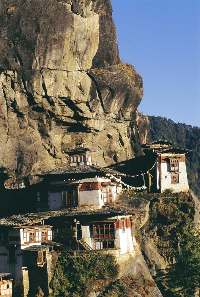 Taktsang Monastery, known as the Tiger's Lair, Paro, Bhutan