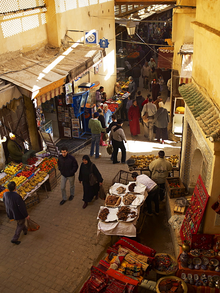 The Medina, Fez, Morocco, North Africa, Africa