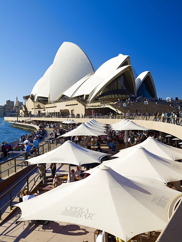 Sydney Opera House, UNESCO World Heritage Site, Sydney, New South Wales, Australia, Pacific - 627-1268