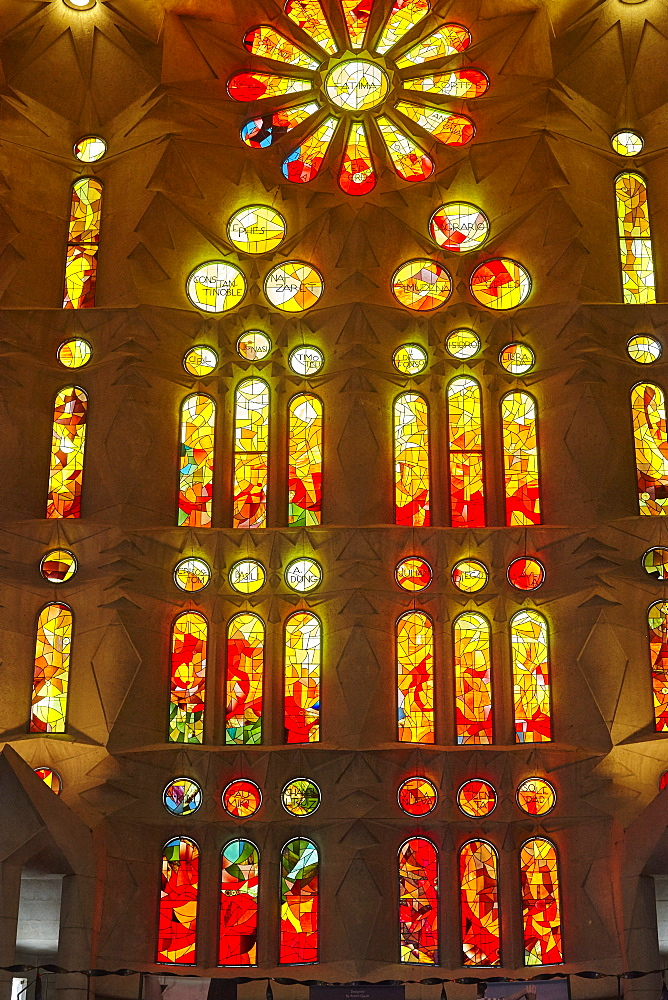 Sagrada Familia, UNESCO World Heritage Site, Barcelona, Catalonia, Spain, Europe - 627-1321