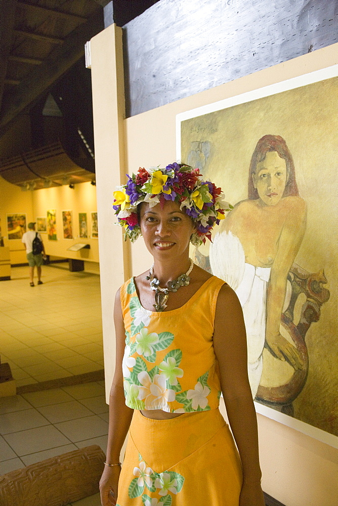 Paul Gauguin Cultural Center, Atuona, Hiva Oa, Marquesas, French Polynesia