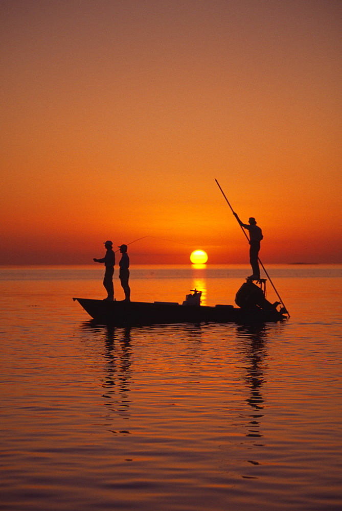 Flatboat Fly Fishing, Islamorada, Florida Keys, USA