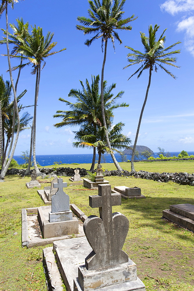 St. Philomena, Father Damien's church, Kalaupapa Peninsula, Molokai, Hawaii, United States of America, Pacific - 632-5236